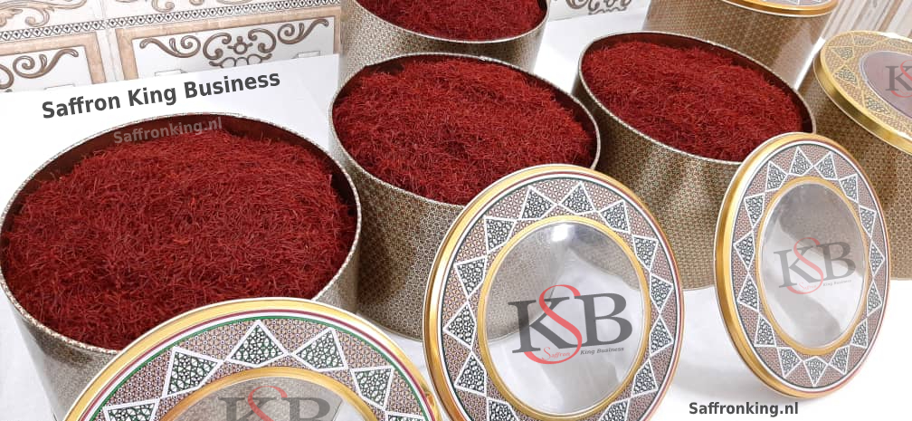 French market for buying and selling saffron