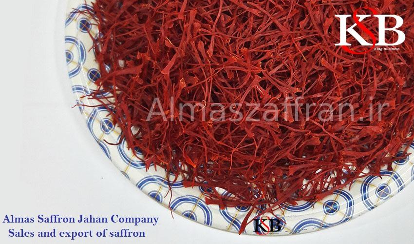 Sale of Mancha saffron per kilogram with production price
