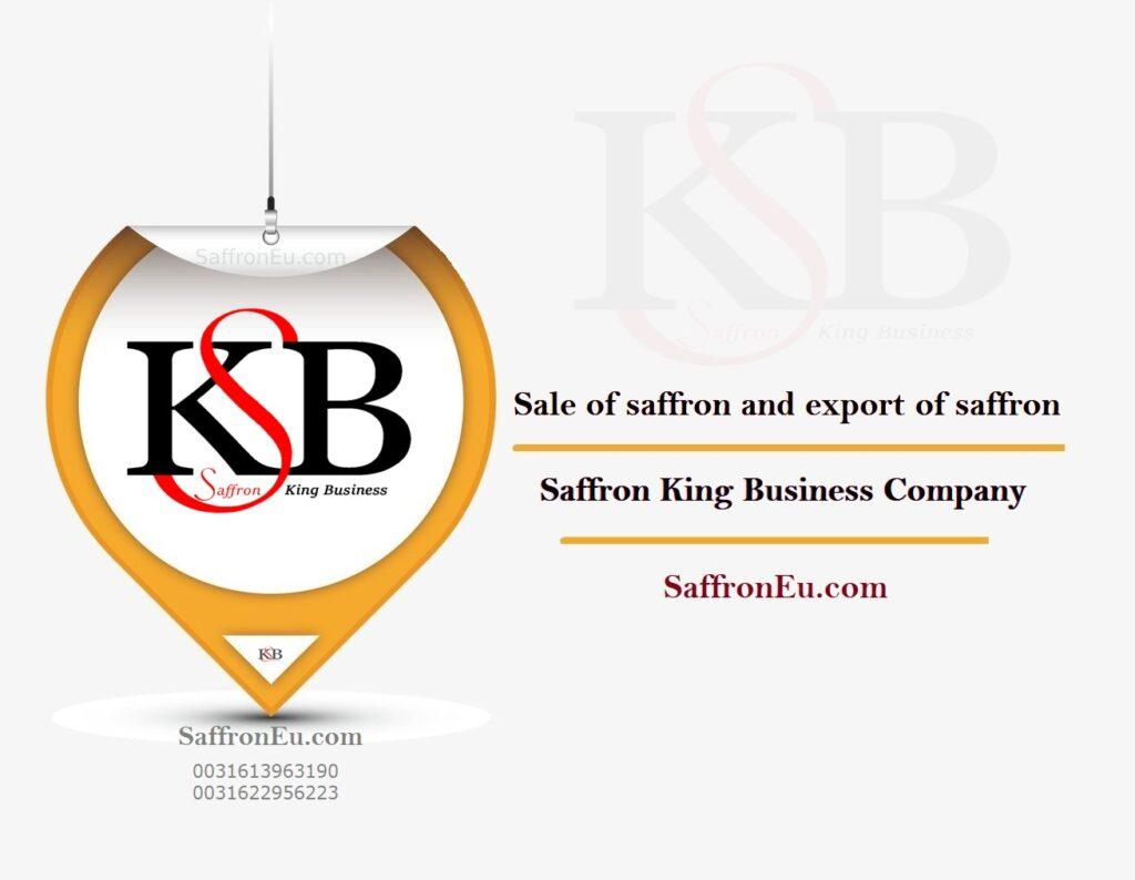 Sale of saffron in Europe
