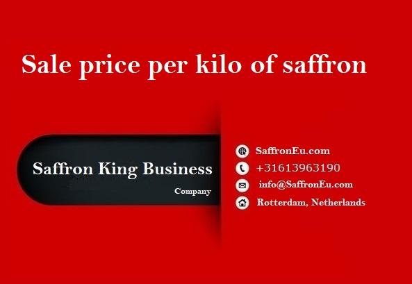 Sell saffron online