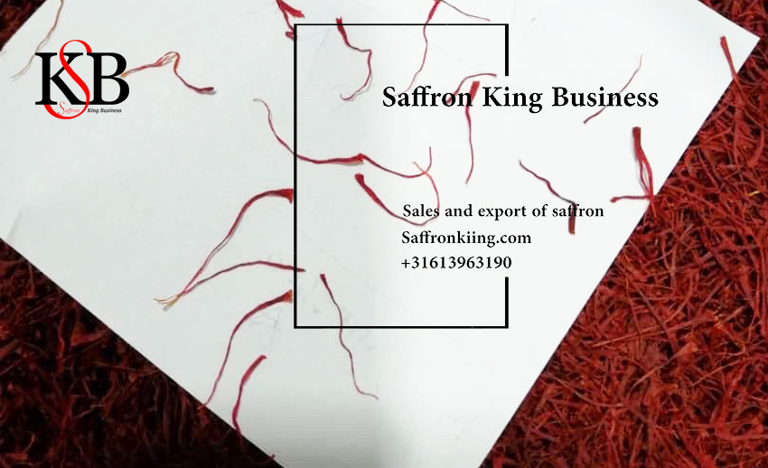 What is the selling price of bulk saffron in Europe?