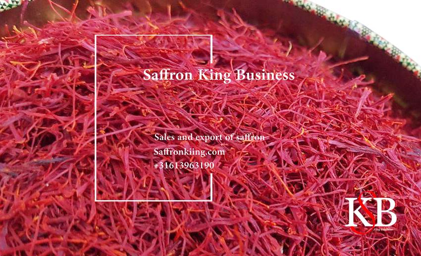 Pure saffron in Saffron King Company