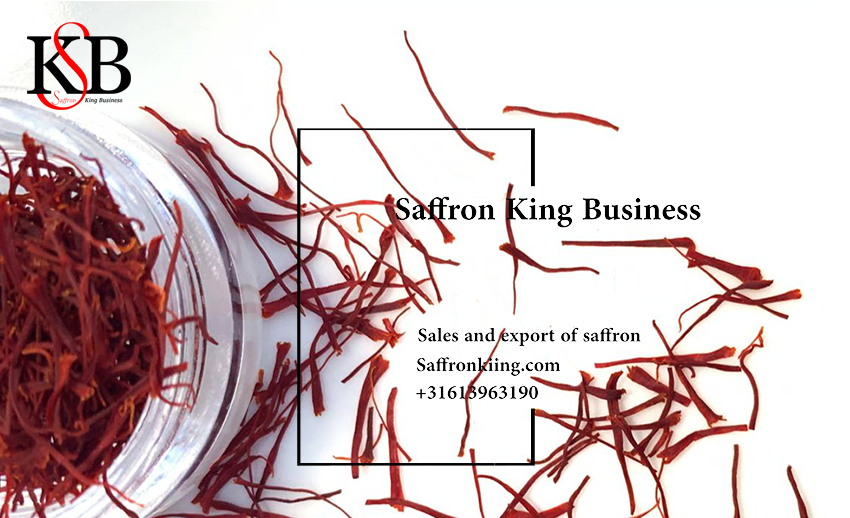 Sale and export of saffron to Spain