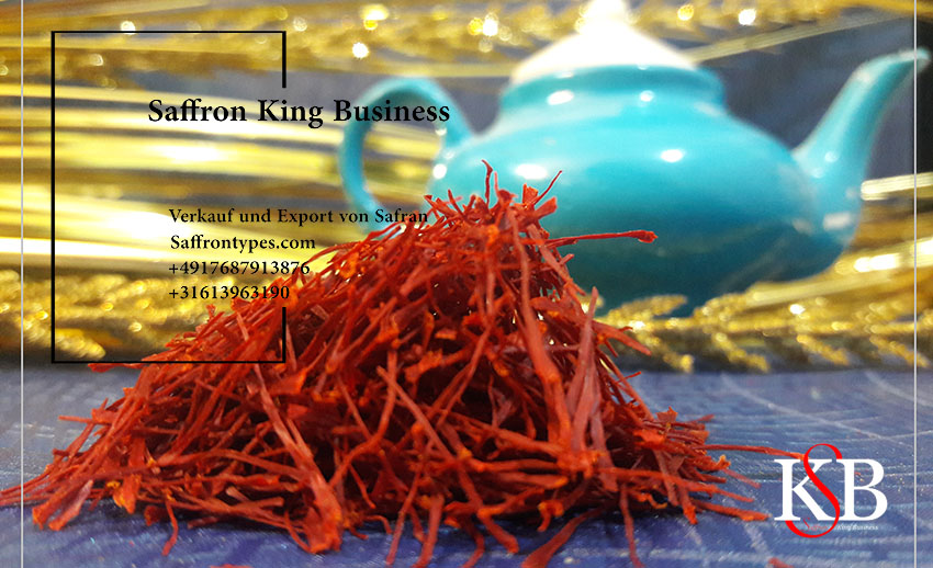 Major saffron price chart for export