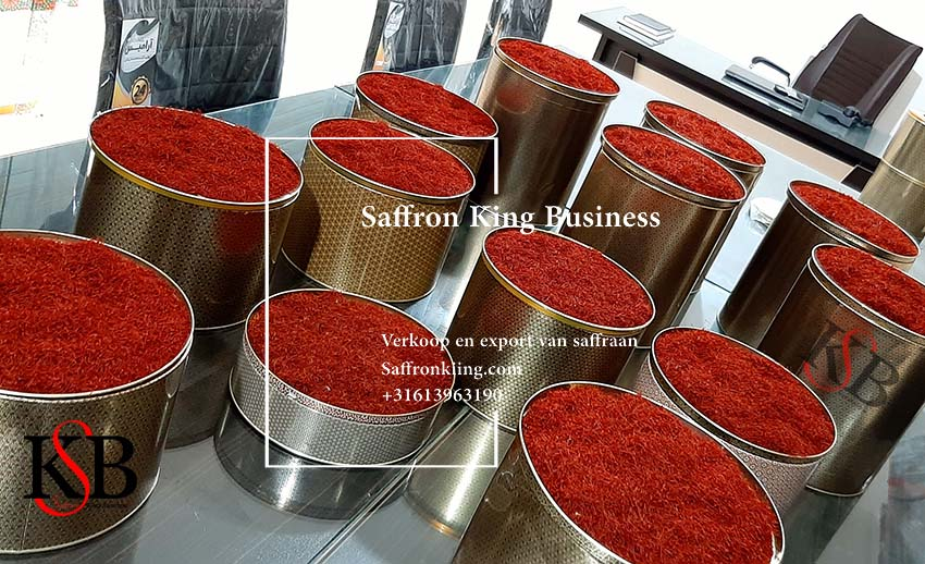 Export of saffron to Germany