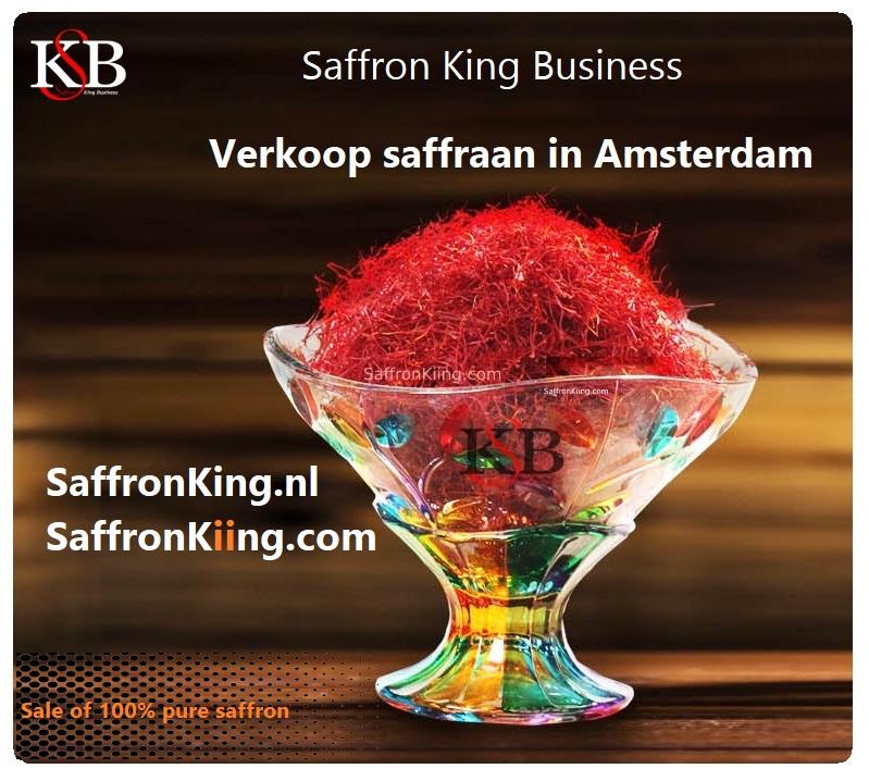 Sell saffron in Amsterdam