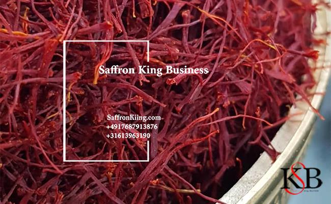 Sale of saffron as a guarantee
