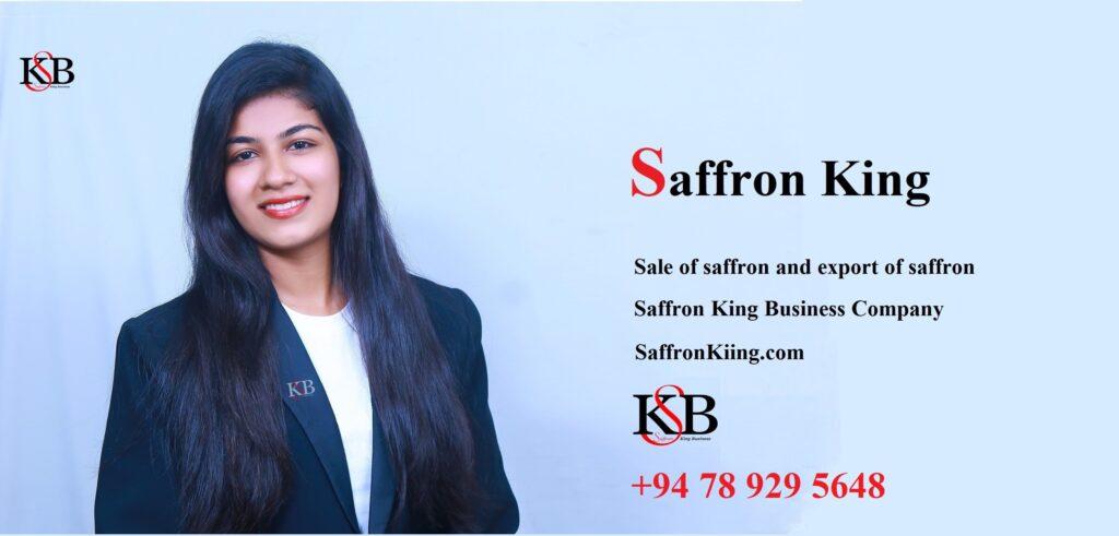 Sale of saffron and export of saffron
